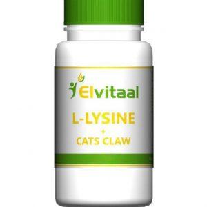 L-lizīns, kaķa naga ekstrakts, pret herpes vīrusiem, L-lysine