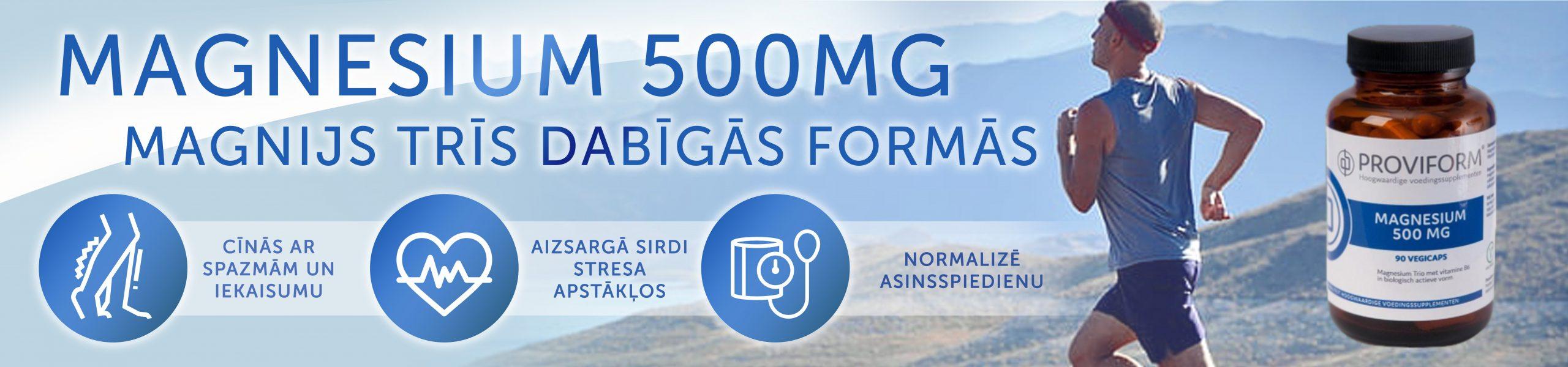 Magnijs organiskais ar B6, vitamīni augstas kvalitātes