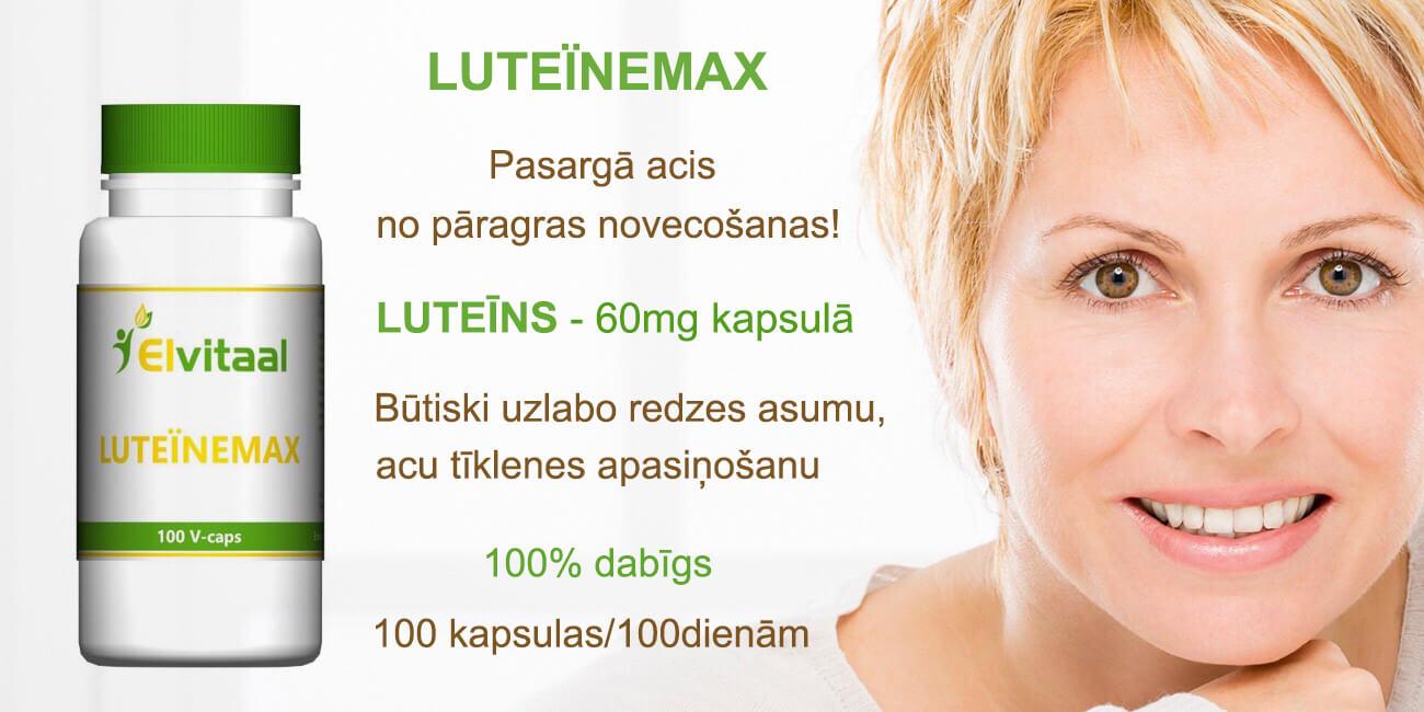 Luteīns pret acu audu novecošanu! Kā saglabāt redzes asumu?