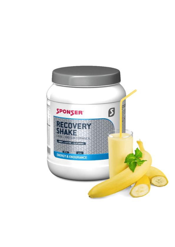 sporta dzēriens spēku atjaunošanai Sponser Recovery drink 900g banana