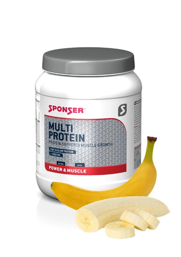sūkalu proteīns Multi Protein SPONSER banana